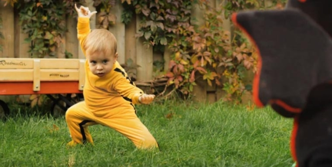 Dragon Baby   Kill Bill für Kinder