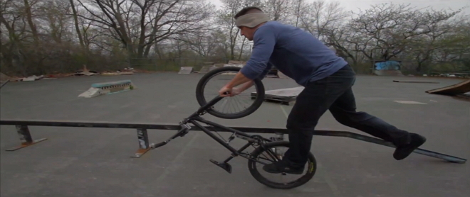 Tim Knoll BMX-Tricks