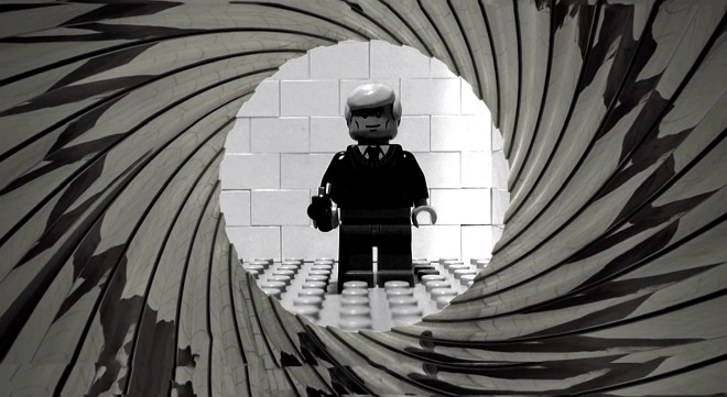 Szenen aus James Bond Casino Royal mit LEGO nachgespielt (Stop-Motion)