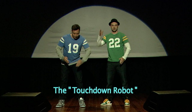Jimmy Fallon & Justin Timberlake – History of Touchdown Celebrations