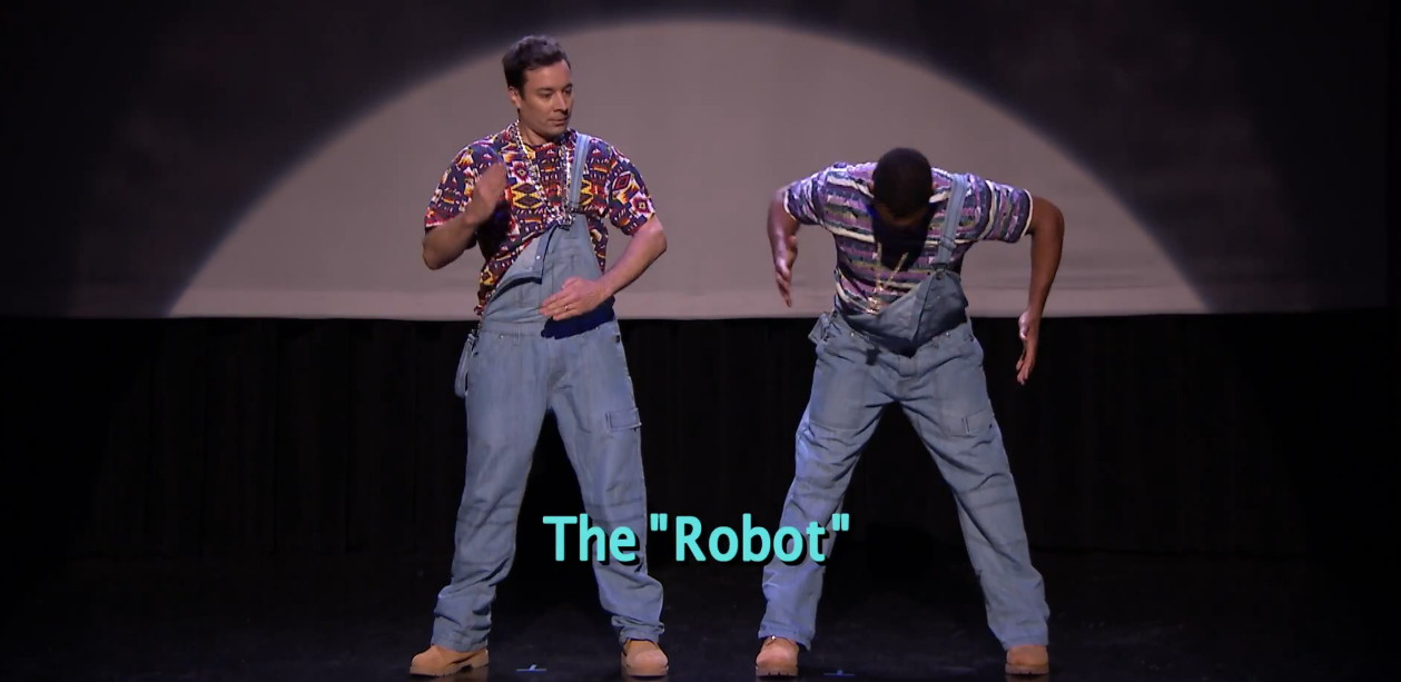 Jimmy Fallon & Will Smith: Evolution of Hip-Hop Dancing