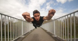 Parkour-Einlagen in Stop-Motion