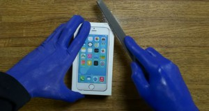 Blue Man Group Unboxing the iPhone 6