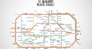 U-Bahn Bar Map Berlin – Wo man gut Bier tanken kann