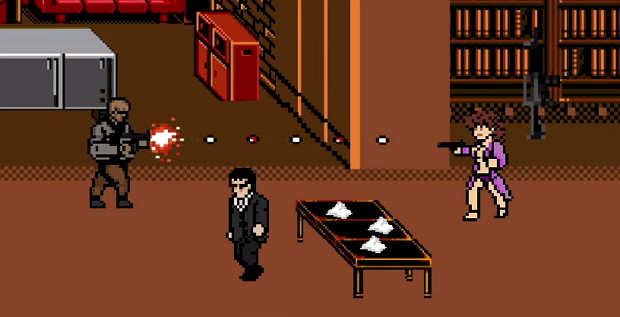 Scarface 8-bit Retrogame