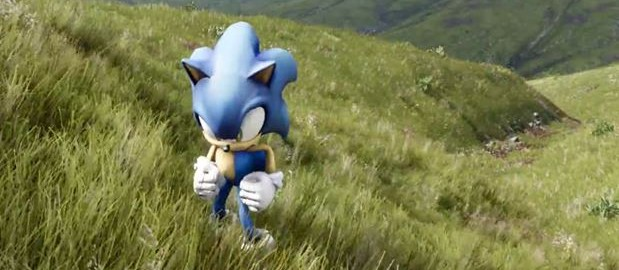 Unreal 4 engine mit sonic webtapete for Design stuhl rugby