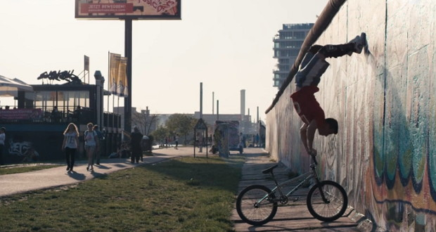 Tim Knoll BMX-Freestyle in Berlin
