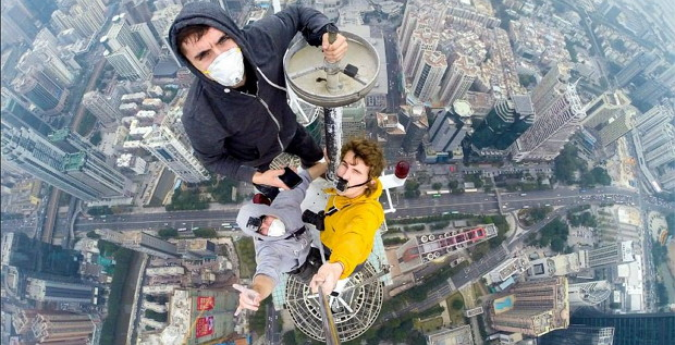 Rooftopping: Shun Hing Tower in Shenzhen