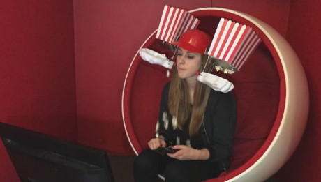 popcorn-helmet-machine