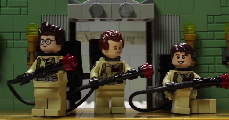 Ghostbusters LEGO Stop-Motion